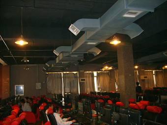 贛州網吧通風工程